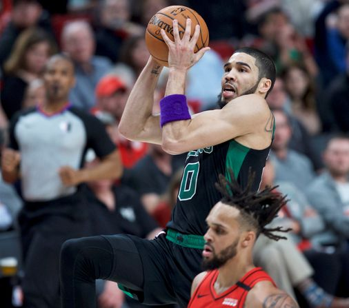 Jayson Tatum continues blistering stretch in Celtics' win in Portland - The Boston Globe