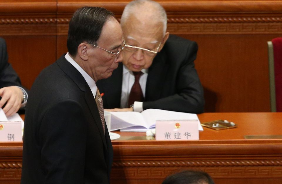 Wang Qishan (at left) has recommended Zweig, not Marx, to his colleagues on the Standing Committee of the Politburo of the People's Republic of China.