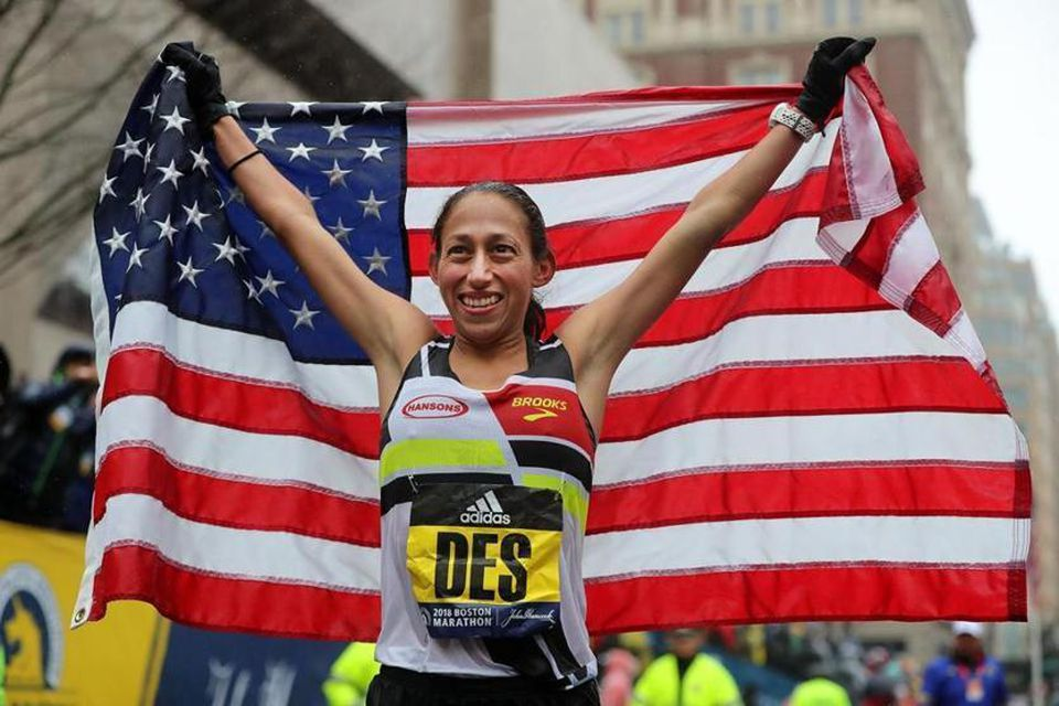 Desiree Linden was the first American woman to win Boston since 1985.