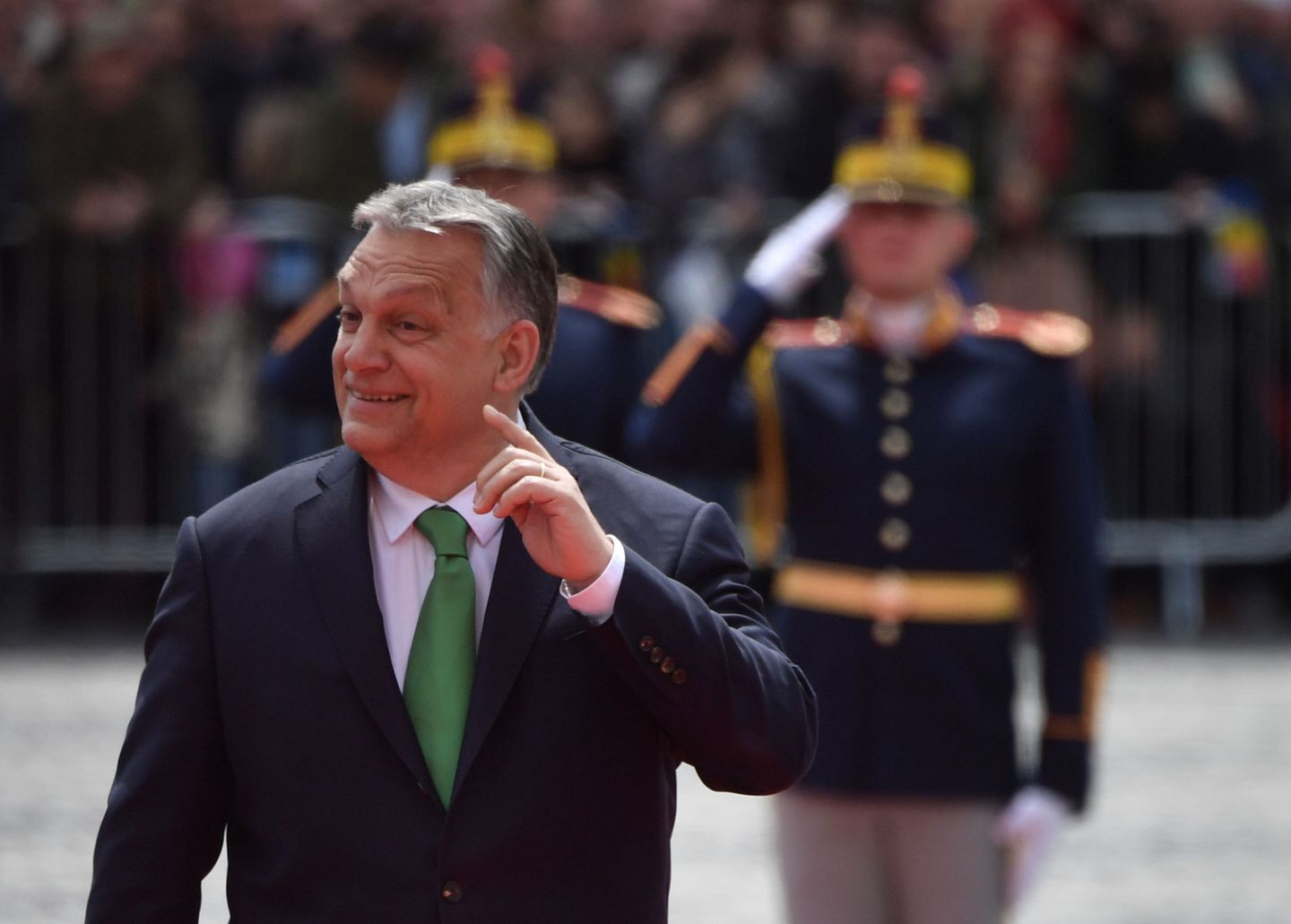 Trump praises Hungary's Orban for keeping country 'safe'
