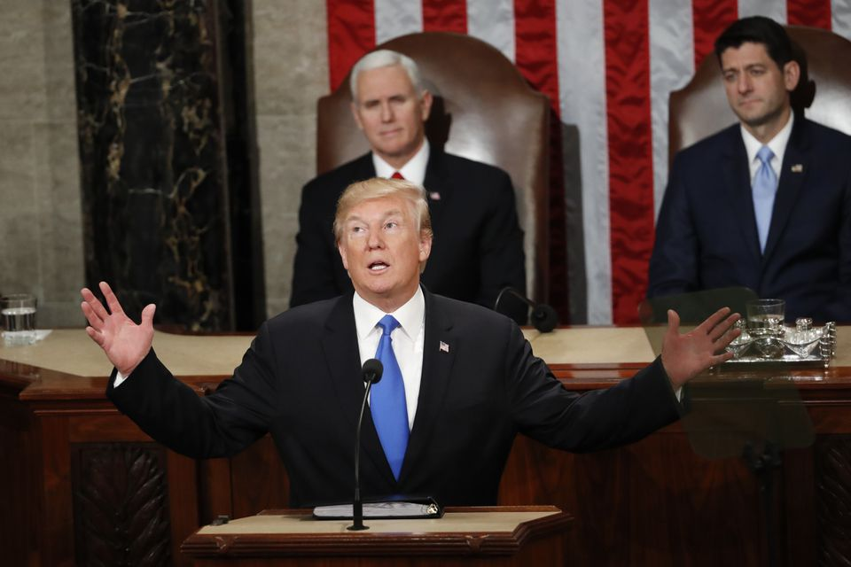 President Trump delivered his State of the Union address on Tuesday.