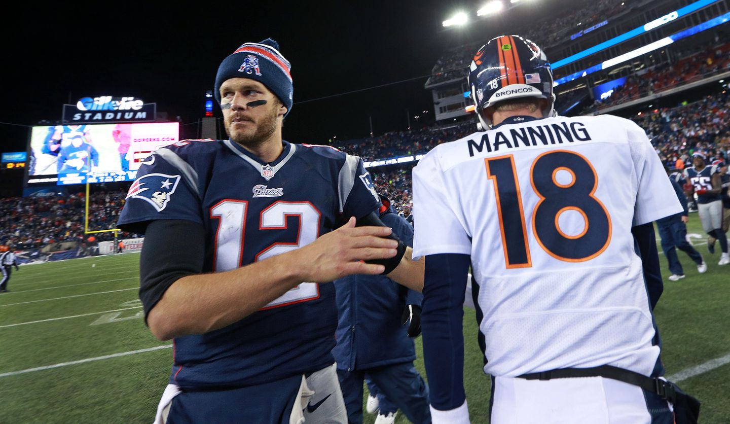 1afb5d19a Tom Brady and Peyton Manning will be meeting in prime time again in 2015