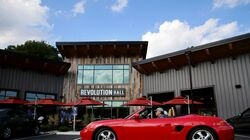 Revolution Hall, a new food hall and entertainment area, in Lexington.