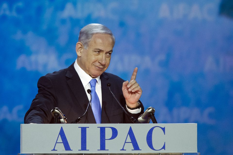 Israeli Prime Minister Benjamin Netanyahu addressed the 2015 American Israel Public Affairs Committee Policy Conference in Washington, D.C., on Monday.