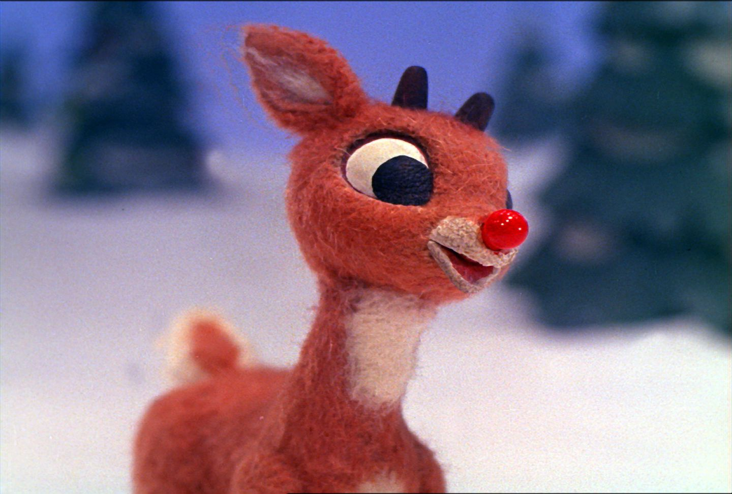 """Rudolph the Red-Nosed Reindeer"" has been shown yearly on TV for more than 50 years."