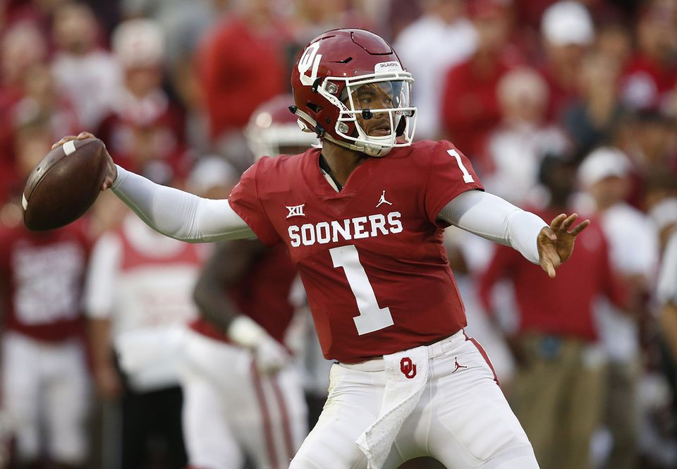 Oklahoma quarterback Kyler Murray.