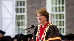 Brown University President Christina H. Paxson.