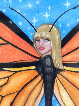 """Taylor Swift Butterfly"" by Torie Leigh."