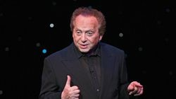 Jackie Mason at the Belasco Theater in Manhattan, March 8, 2005.