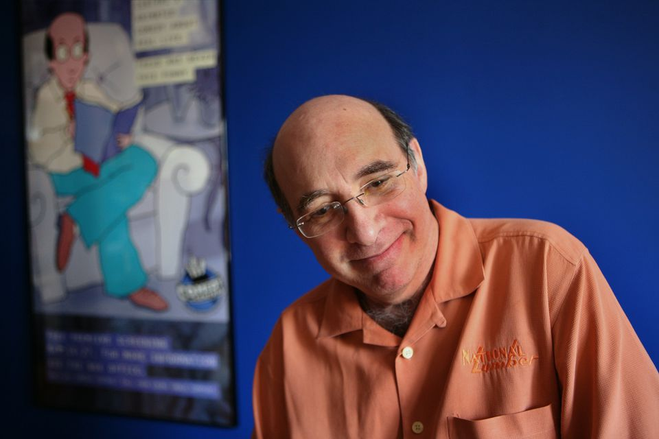 """Jonathan Katz is one of several comedians who will take part in Kevin Allison's """"Risk!"""" during the Boston Comedy Arts Festival."""
