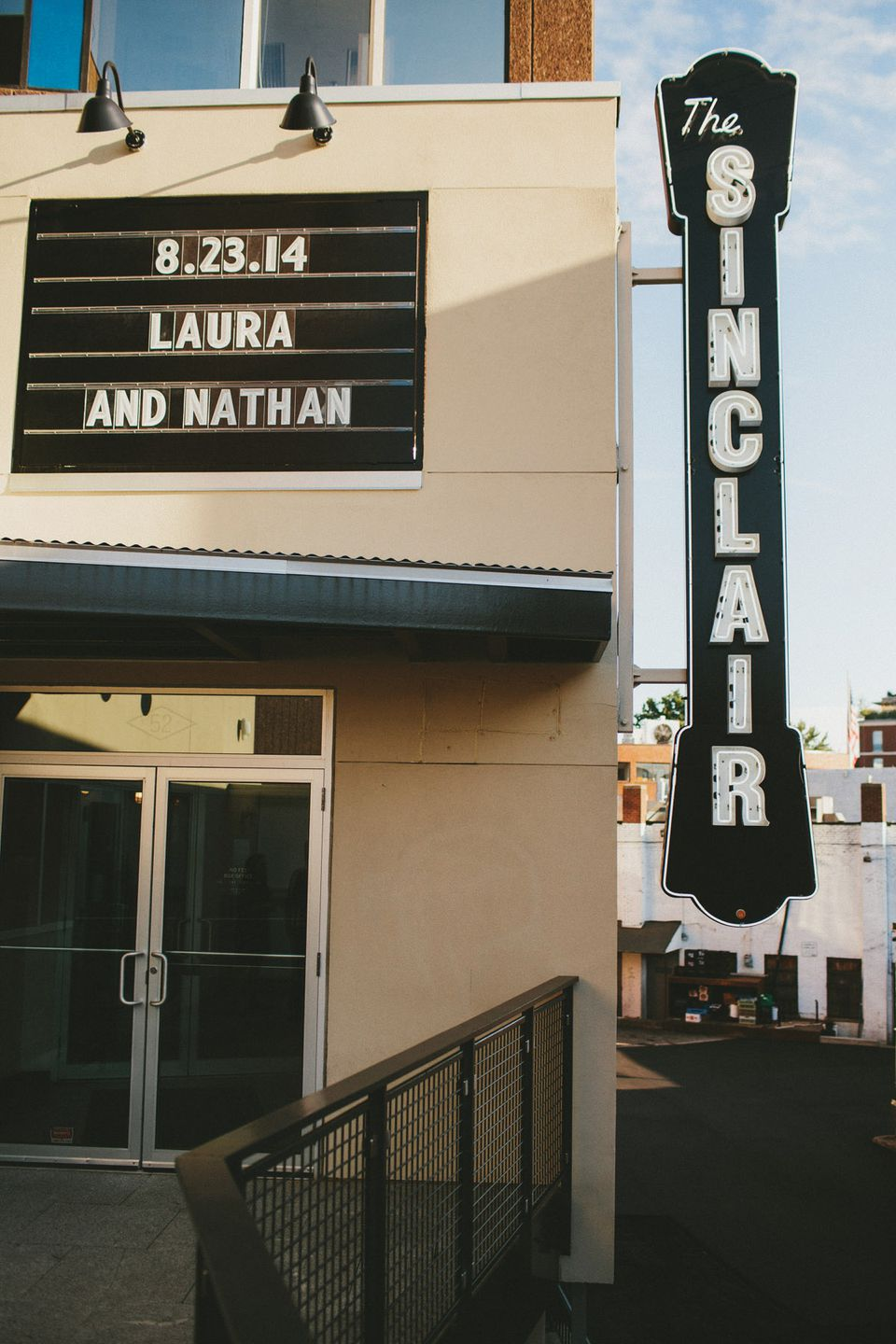 The couple contacted The Sinclair, one of their favorite restaurants, on a whim, just a month before their planned wedding date.
