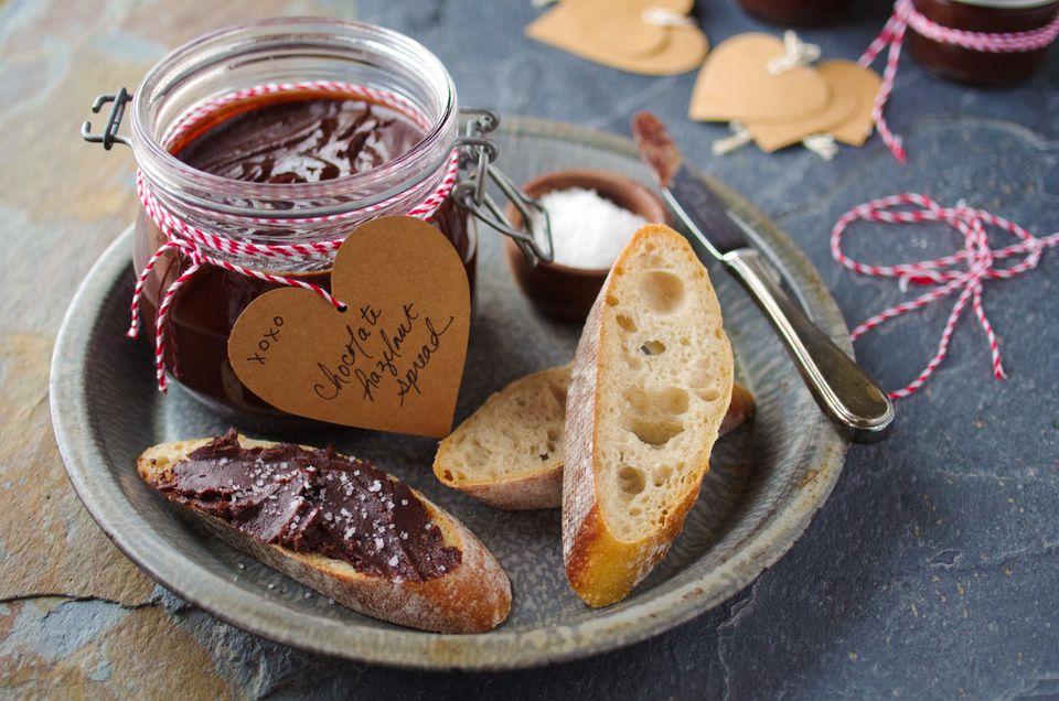 Gianduja (chocolate-hazelnut spread)
