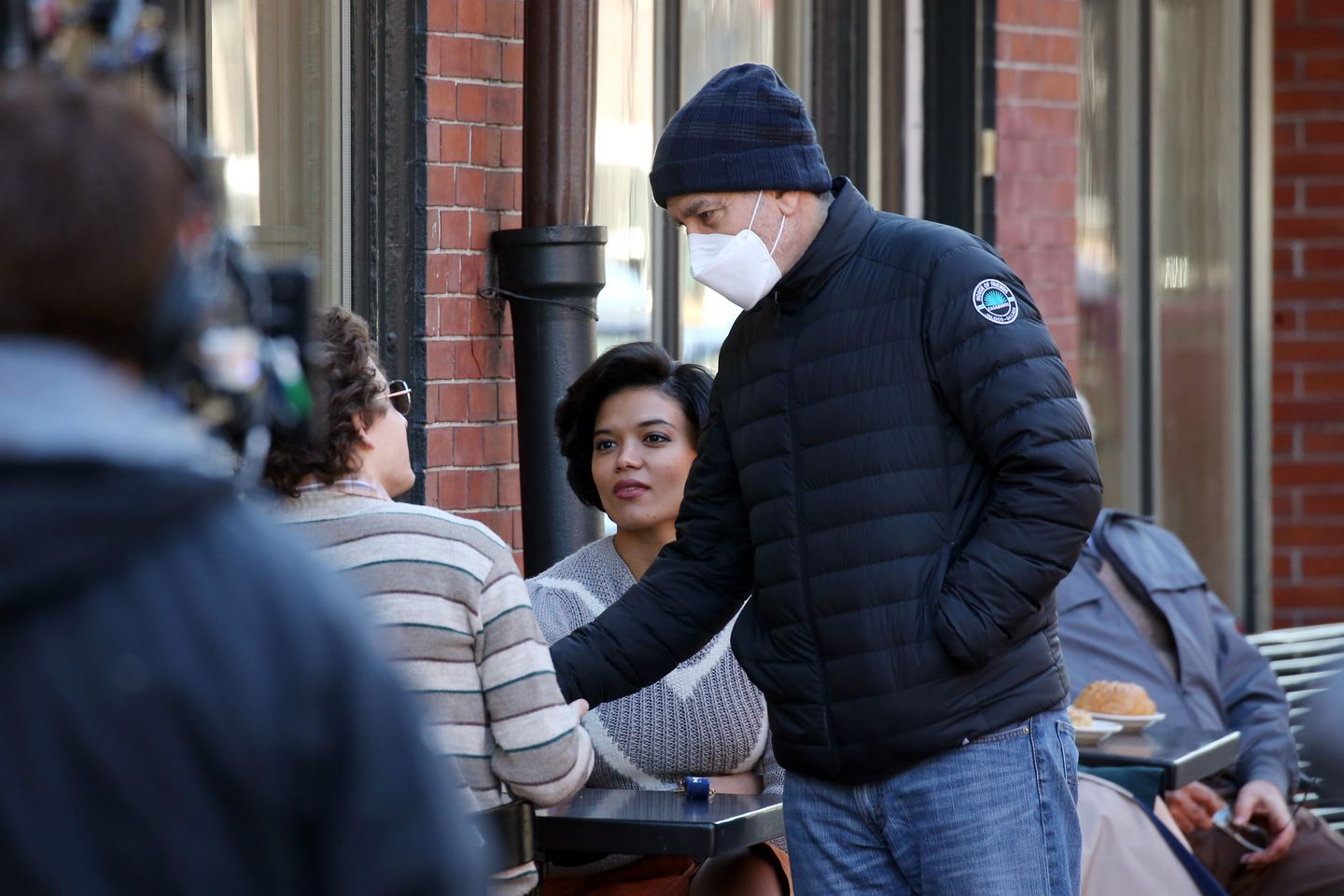 George Clooney and Ben Affleck Spotted filming in the South End this morning MHXAR7FGAXSGH5ZRRVHYAJ2N6I