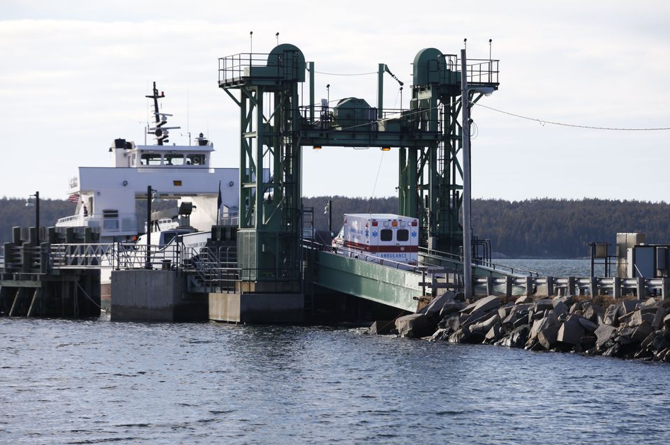 Transportation between the mainland and Swan's Island is by ferry. The island has a population of 177 year-round residences, 33 of whom have joined the energy conservation program offered by the Island Institute.