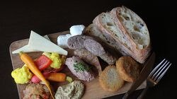 The Ploughman's Platter at The Gallows restaurant, which is ending its 11-year run in the South End.
