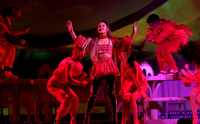 Ariana Grande Showcases Charm Voice At Td Garden The Boston Globe
