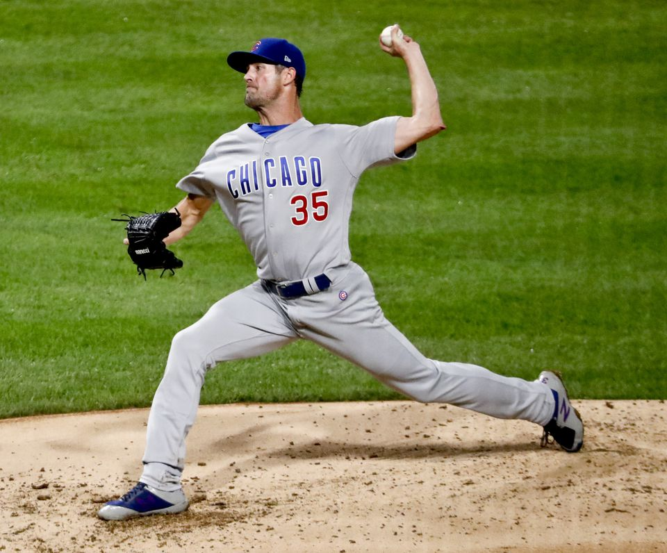 Cole Hamels is 4-0 with an 0.79 ERA in five starts with the Cubs.