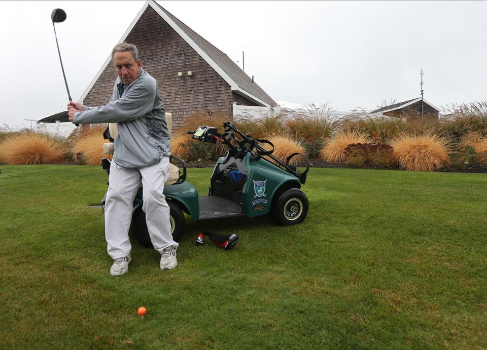 Former sportcaster Bob Lobel filed suit against Woodland Golf Club for barring him from playing with his handicap golf cart.