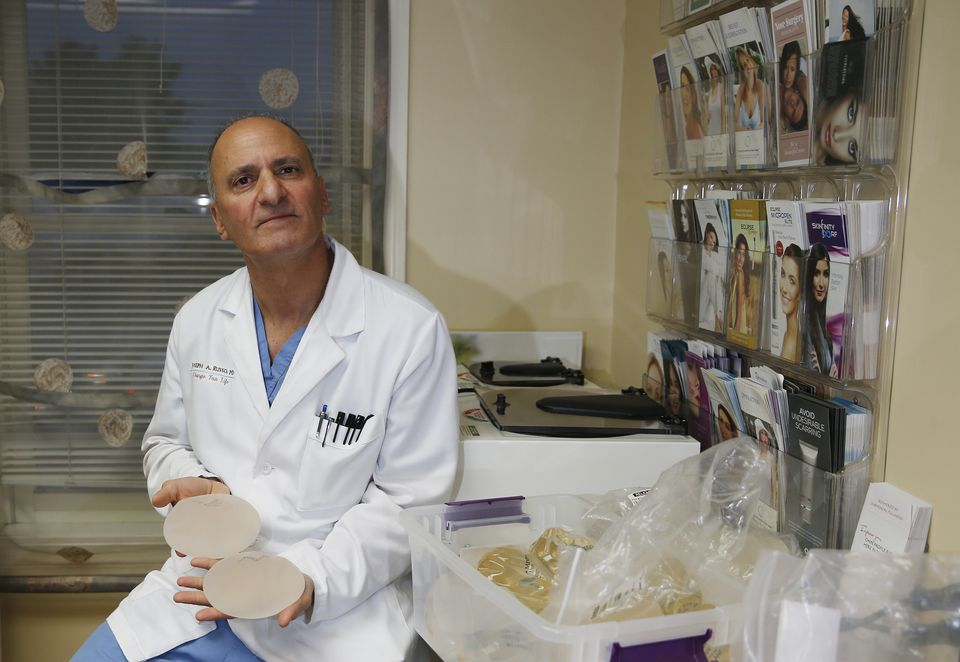 "Dr. Joseph Russo says that 90 percent of his breast implant patients choose stable silicone ""gummy bear"" implants."