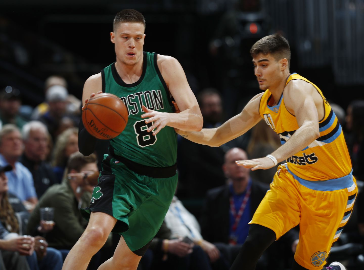 09ac3735d8bf Jonas Jerebko (8) ignored doctor s orders after breaking his nose and  stopped wearing a