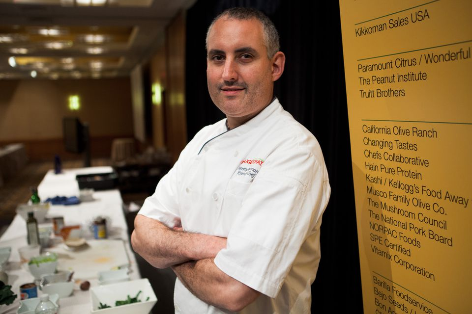 Chef Jeremy Bearman of New York's Rouge Tomate fares well with a healthy menu.
