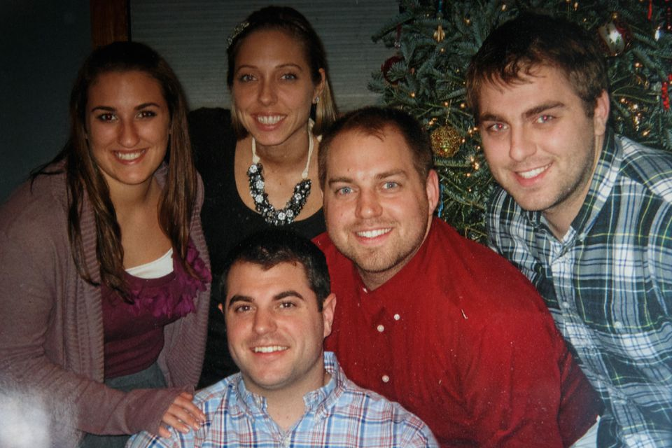 Because of their father's job and scholarships, Alicia, Amy, Michael, John, and Tom Vautour attended BC at a discount.