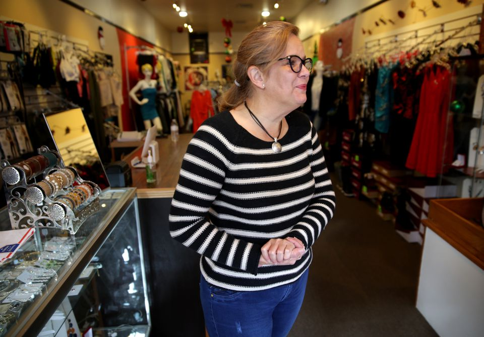 """""""I think it's perfect not to sell them anymore,"""" said Fatima Ortiz, the owner of Chelsea's Amazonia Jeans."""