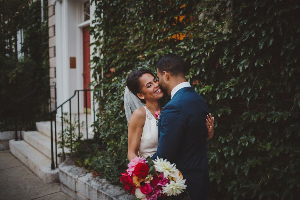 Harvard med school students Laura and Nathan Scott pulled off a dreamy, DIY wedding in Harvard Square.