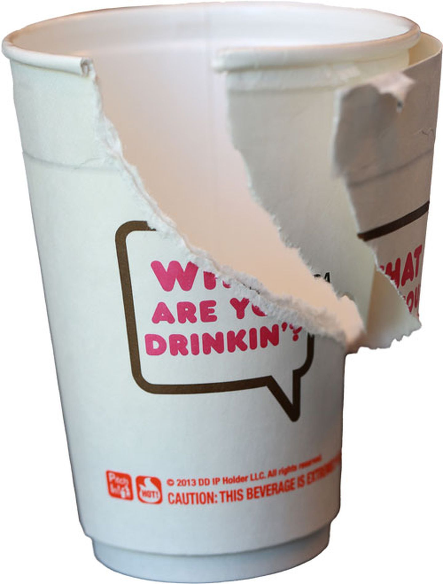 Dunkin Donuts Coffee Cup Logo