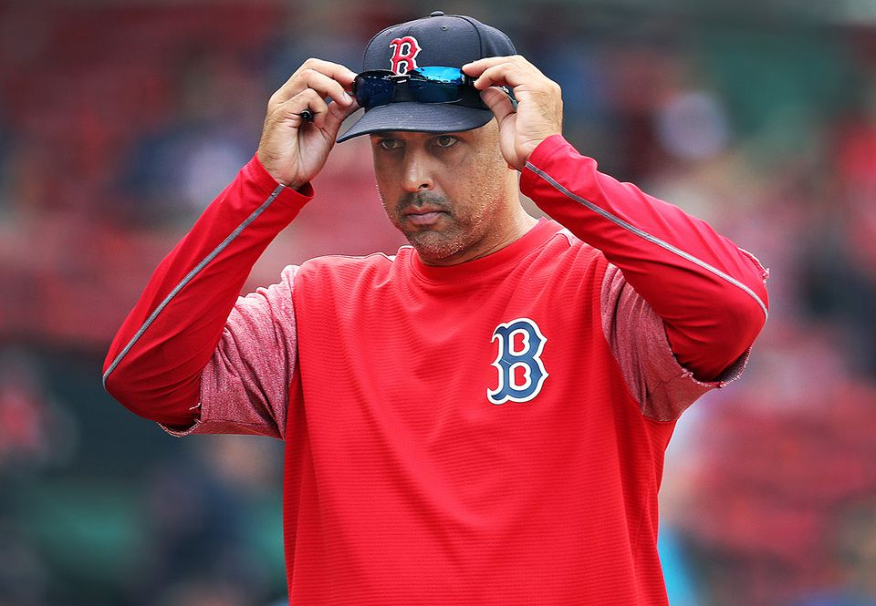 Alex Cora made a number of changes in how the Red Sox use analytics.