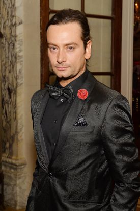 """Constantine Maroulis (seen in 2016) is among the non-Latino actors in lead roles at North Shore Music Theatre's """"Evita.''"""