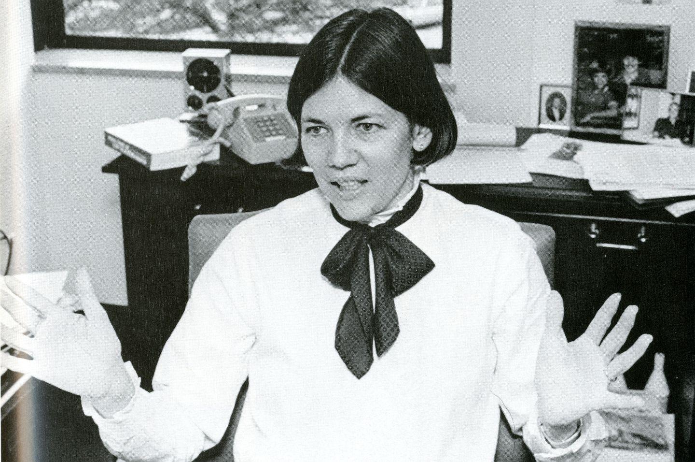 Warren in 1986 at The University of Texas School of Law.