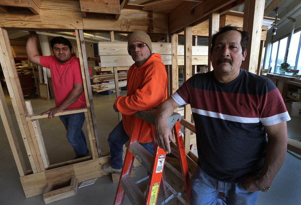 Francisco Sierra, Luis Tirado, and Miguel Pina said they have been victims of wage theft. In the past 18 months, the attorney general has issued more wage-violation citations against employers in the construction industry than in any other sector — 253 in all, resulting in more than $1.6 million being recovered in penalties and unpaid wages.