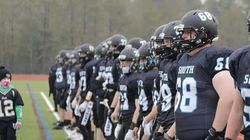 The Plymouth South football team focused on closing out a 5-1 season with a victory over North Quincy Saturday.