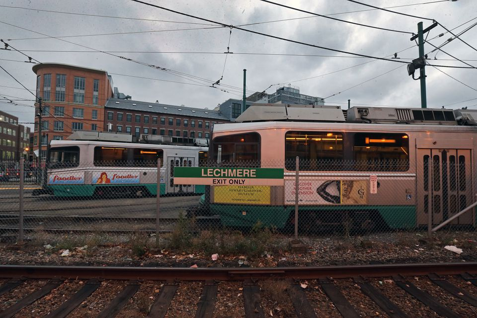 The Green Line project calls for service to extend north from Lechmere, the current terminus.