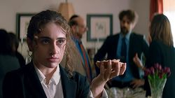 "Rachel Sennott in ""Shiva Baby."""
