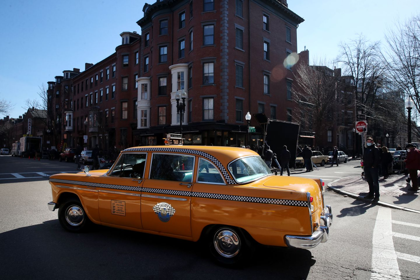 George Clooney and Ben Affleck Spotted filming in the South End this morning P6QXAX5HEATBJED2Z2PFU47QGQ