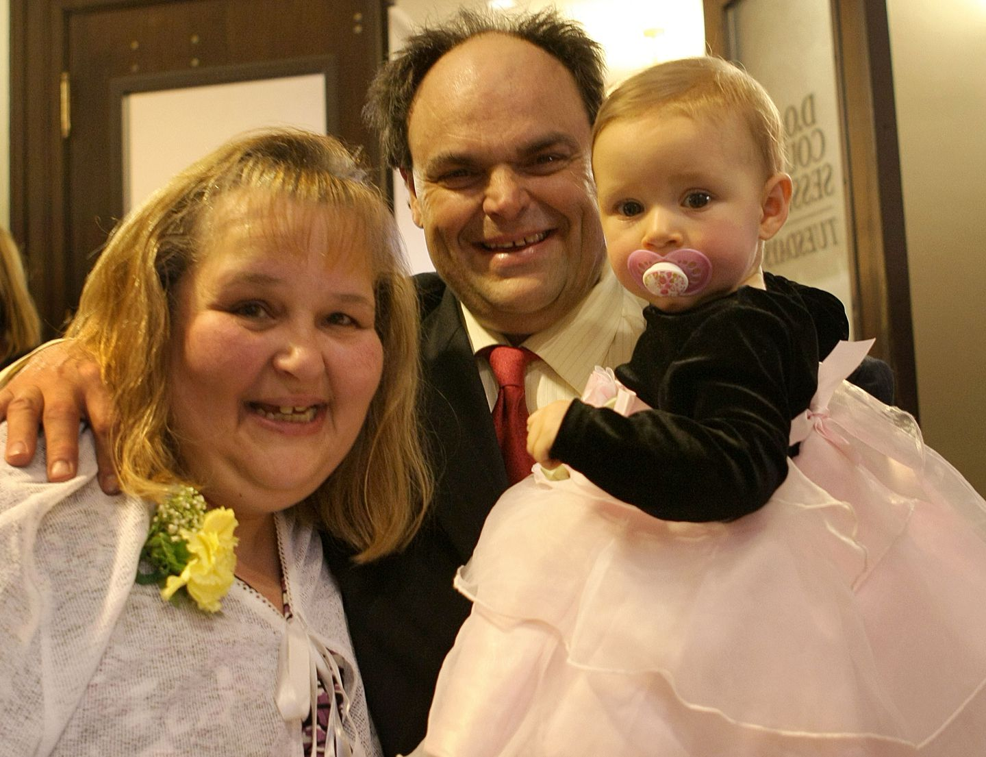 Irene and James Kasper with Caitlyn in 2009.