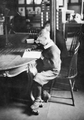 The Boston Public Library was the first public library to have a reading room designed specifically for children.