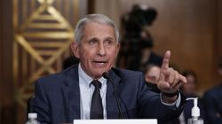 Dr. Anthony Fauci spoke to a Senate panel on July 20.