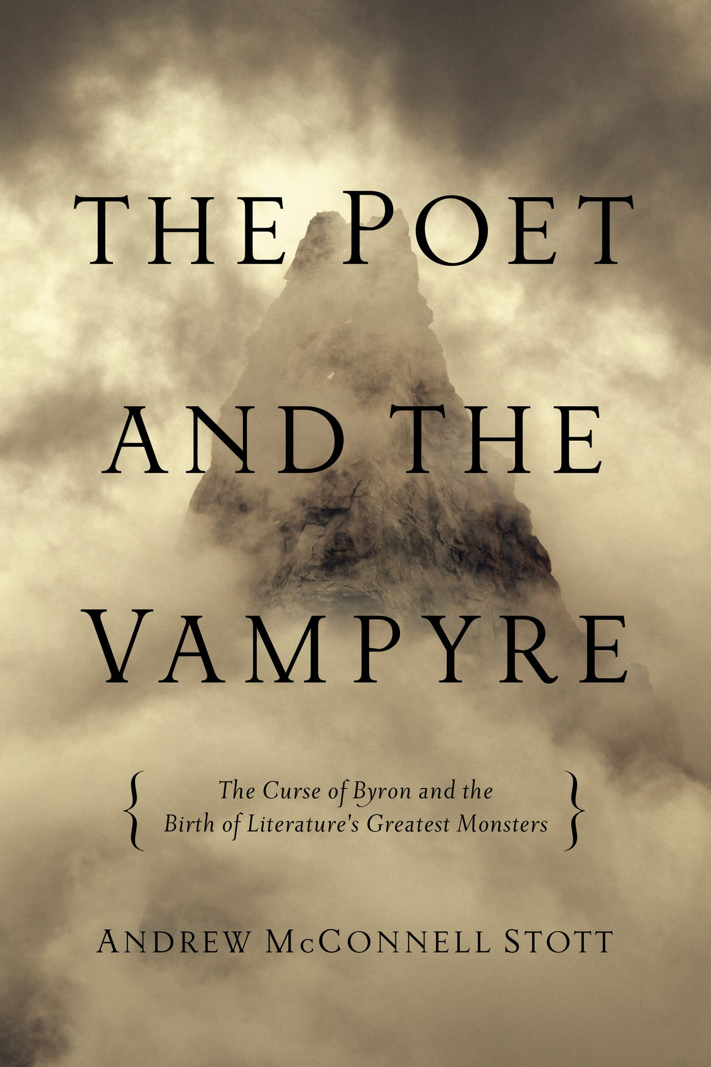 The Poet and the Vampyre' by Andrew McConnell Stott - The
