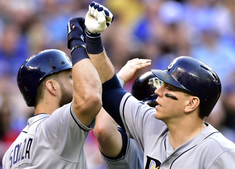Steven Souza Jr. and Logan Morrison (right) have combined for 31 home runs.