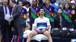 Novak Djokovic was on the verge of completing a calendar Grand Slam, but it was not to be.