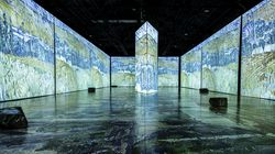 """A look inside the immersive art exhibit """"Imagine Van Gogh,"""" coming to Boston later this year."""