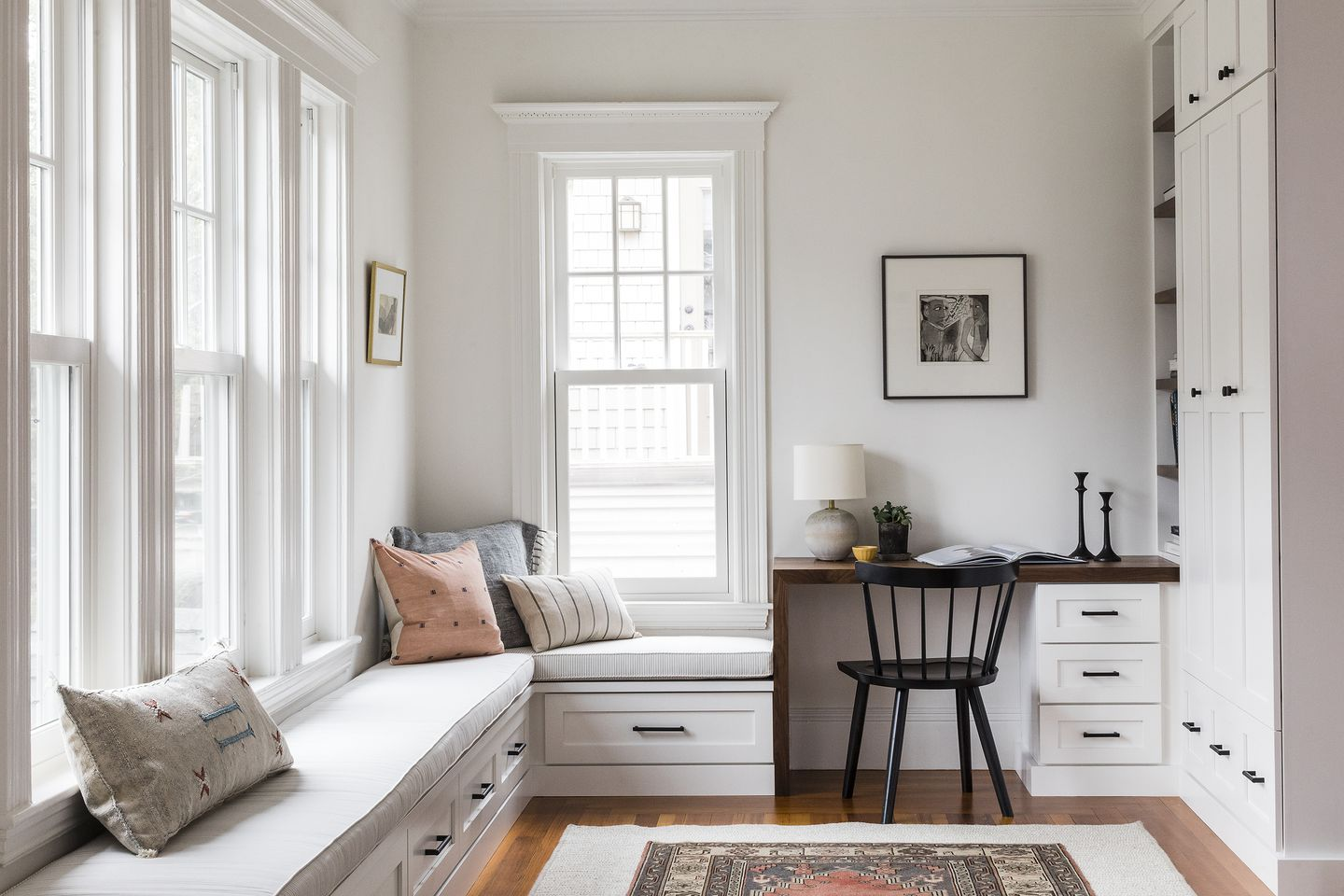 Home Design Ideas Making Room For A Study Space And Storage The Boston Globe