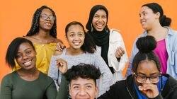 826 Boston Youth Literary Advisory Board members (left to right from top row to bottom): Lordorina, Asiyah, Zariah; Berlanda, Djaza; Kevin, Kaylany.