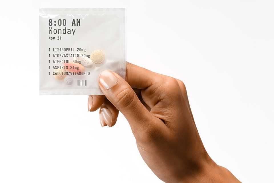 PillPack ships doctor-prescribed medications to customers every two weeks.