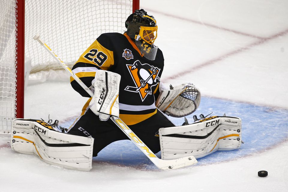 Pittsburgh's Marc-Andre Fleury: Slotted for Vegas?