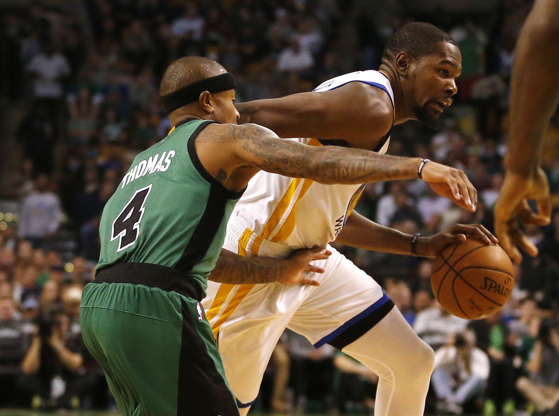 2d09785ffdf Golden State s Kevin Durant was head and shoulder above every Celtics  defender