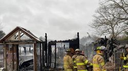 About 90 birds were killed after fire swept through Foster Parrots sanctuary in Hopkinton, R.I., on Thursday.